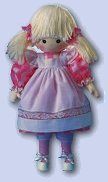 Cloth Doll by Pauline - Betty